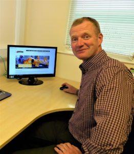 Bill Johnston and the new Jensen UK website