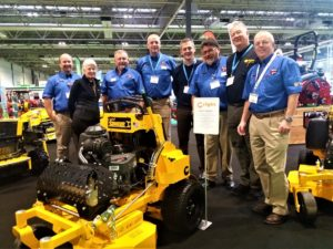 Machinery Imports team with representatives from Wright at Saltex 2018