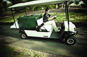 T H WHITE Golf and Utility Cushman Shuttle 2