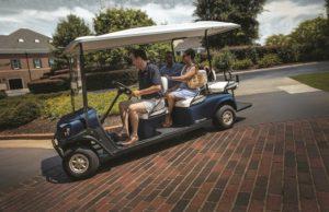 T H WHITE Golf and Utility Cushman Shuttle