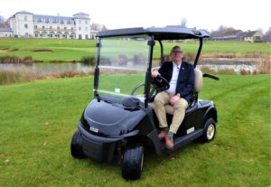 T H WHITE Golf and Utility Sales Specialist Simon Bingham